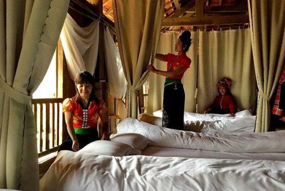 nuit chez l'habitant dans le nord du Vietnam