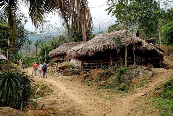 randonnée à la réserve naturelle de Pu Luong