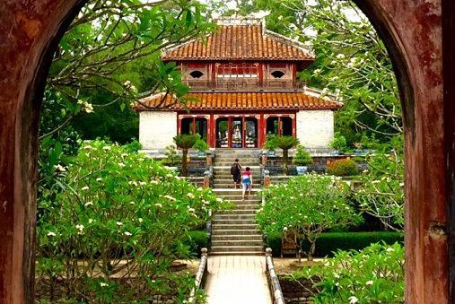 tombeau du roi Minh Mang à Hué