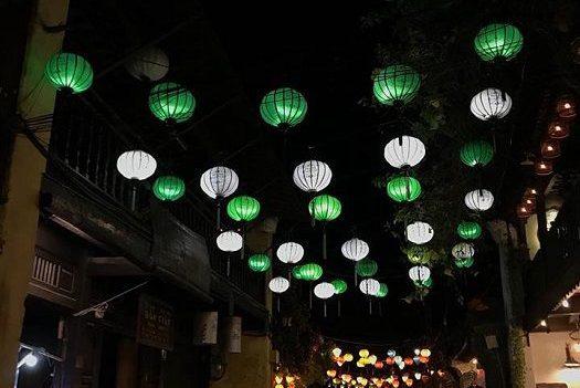vielle ville de Hoi An le soir