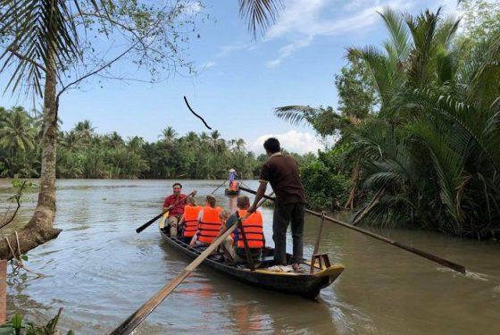 croisière dans le delta du mekong